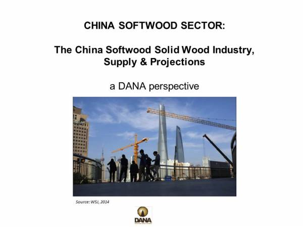 Cover image The China Softwood Solid Wood Industry, Supply & Projections