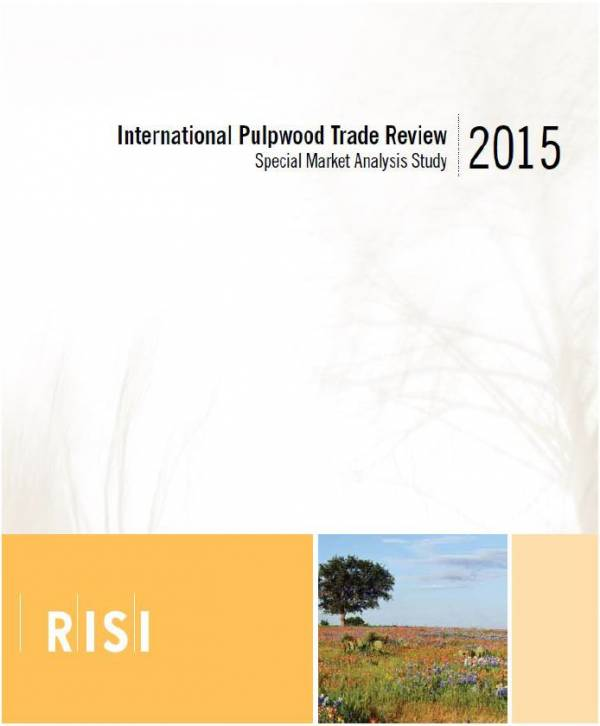 Cover image 2015 International Pulpwood Trade Review
